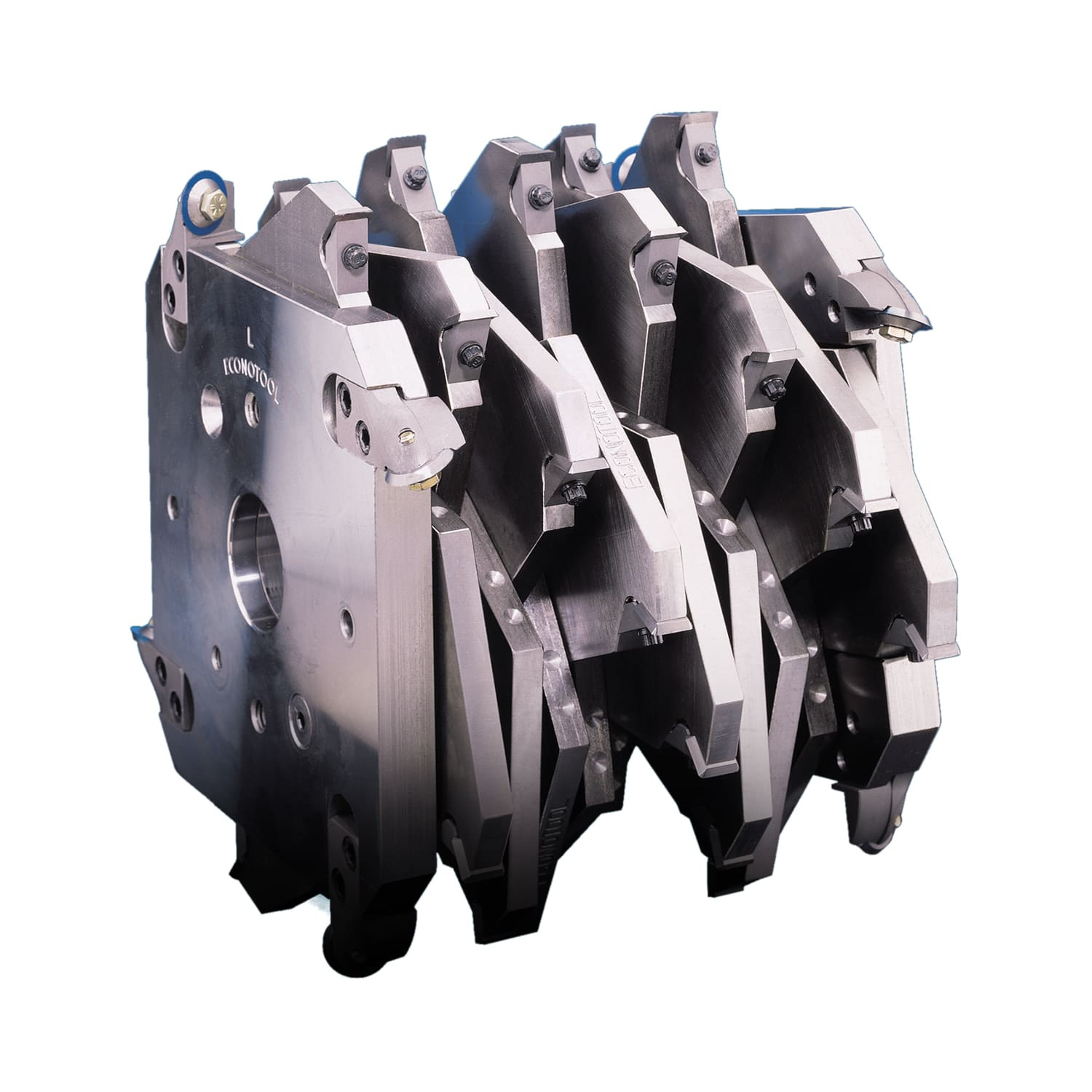 0.5`` Radius Notching Indexable Cutter Head With Replaceable Inserts