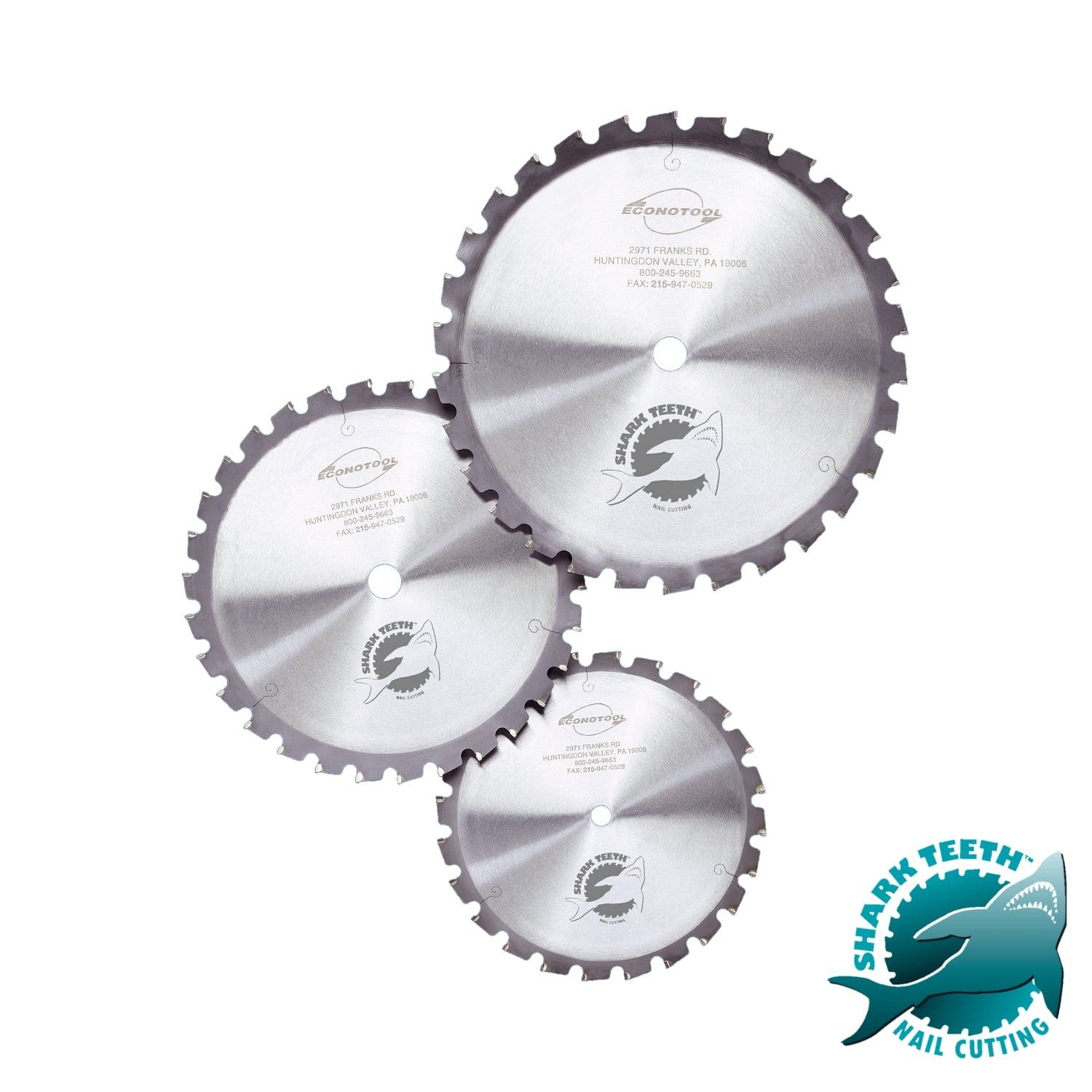 Circular Saw Blades With Sharkteeth Carbide Technology