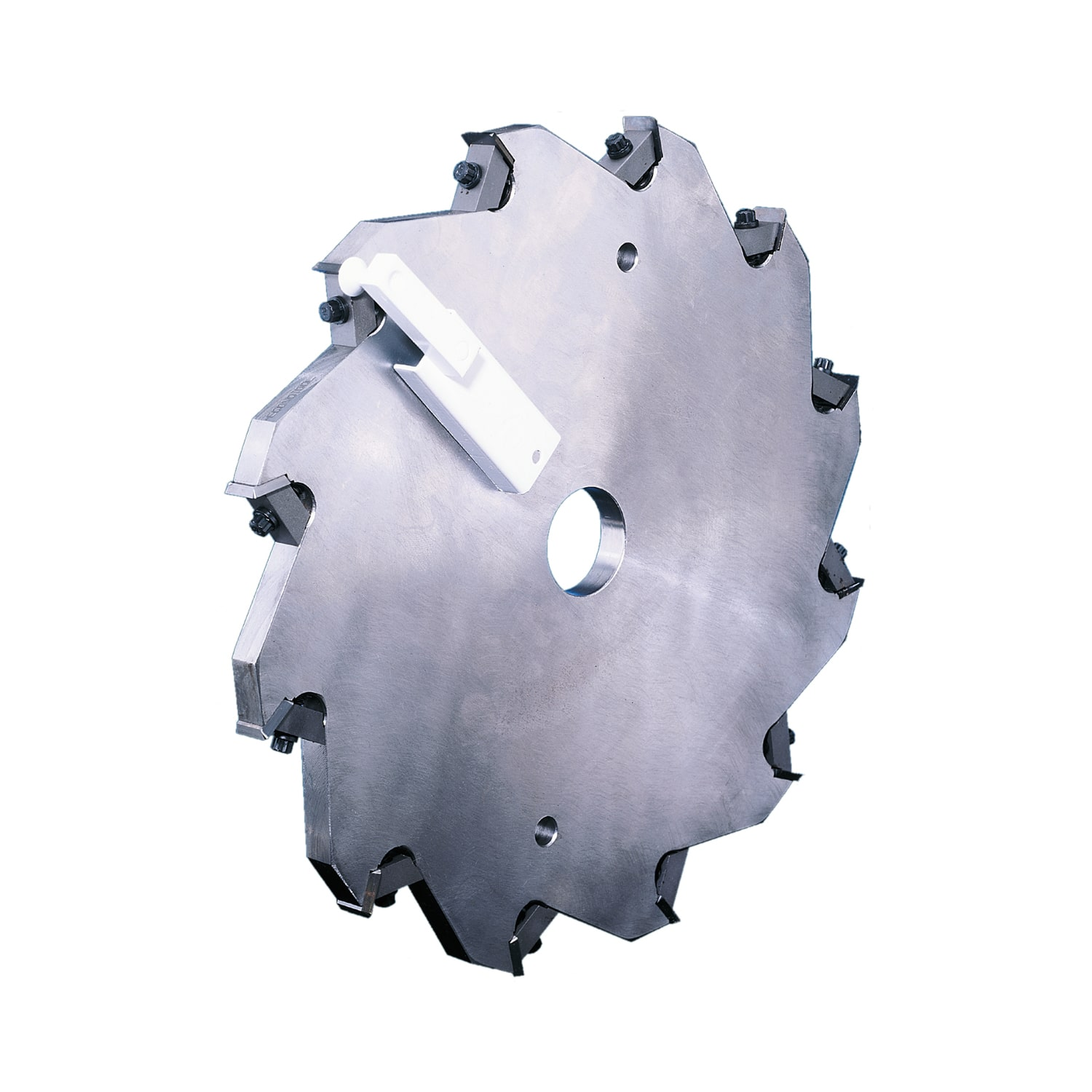 Side Head / Hogger Indexable Cutter With Replaceable Inserts